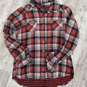 1989 Place • Girl's Plaid Blouse